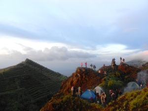 Sunrise at Dieng