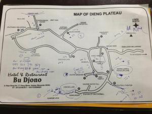 Dieng map
